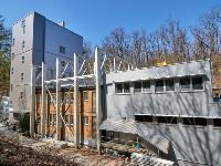 Building of AMS laboratory on mid-April 2019